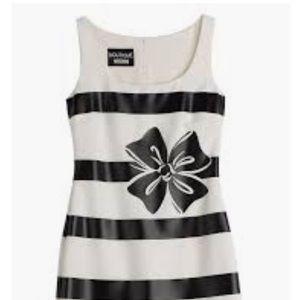 Boutique Moschino Striped Sleeveless Dress Size 6